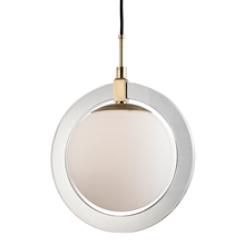Hudson Valley 5118-AGB - LARGE LED PENDANT