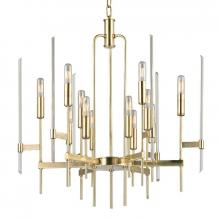 Hudson Valley 9912-AGB - 12 LIGHT CHANDELIER